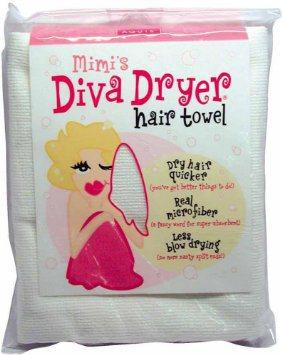 Mimi S Diva Dryer Hair Towel