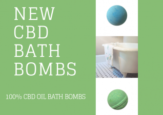 CBD Bath Bombs & Oil